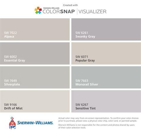 wandfarben schlafzimmer ideen 6002 die besten 25 sherwin williams popular gray ideen auf