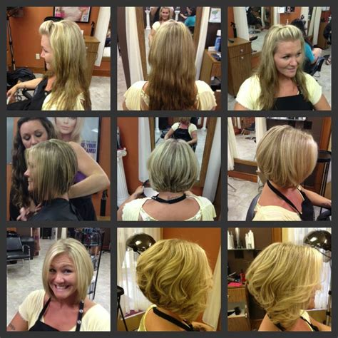 before and after haircuts before after angled bob haircut tresses salon pictures