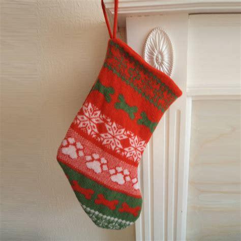 knitting pattern for dog christmas stocking knitted fairisle dog christmas stocking by willieratbag