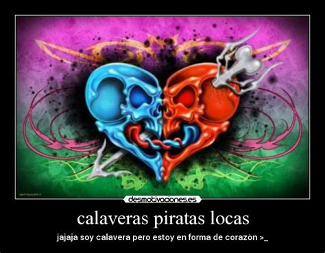Imagenes De Calaveras Locas | calaveras piratas locas desmotivaciones