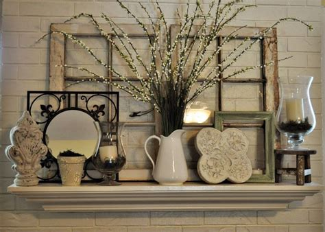 Mantel Shelf Decorating Ideas by 1000 Ideas About Window Frame Decor On