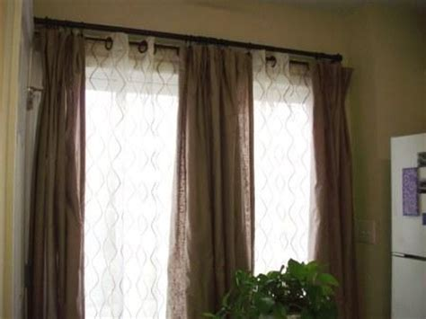 two curtain rods one window best 25 double window curtains ideas only on pinterest