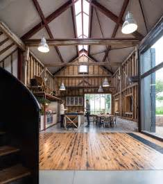 Steel Frame Barns For Sale Liddicoat Amp Goldhill Restore The Ancient Party Barn In England