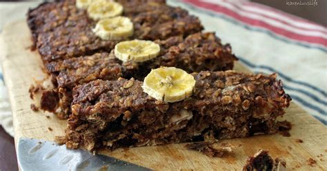 protein enriched foods banana date and oat protein enriched slice sugar free