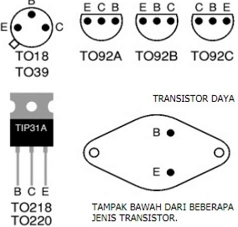 kaki transistor 2n3055 mengukur komponen