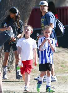Did Stop Kevin Federline From Seeing His by Kevin Federline Makes Time For His Boys Soccer In La