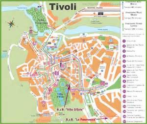 tivoli tourist map
