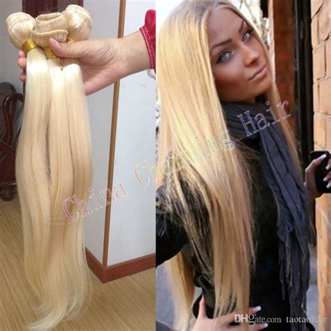 hair 613 for black woman cheap honey blonde weave 100 unprocessed russian 613