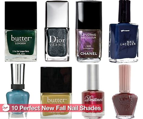 7 Beautiful Fall Nail Polishes by The New Nail Colors For Fall 2010