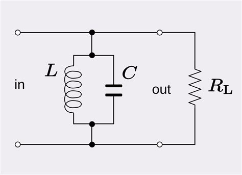 band pass filter without inductor file rlc parallel band pass svg