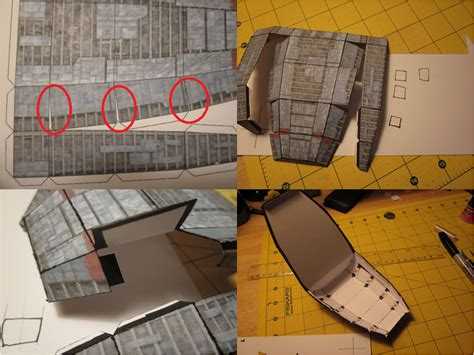 Papercraft Tutorial - papercraft tutorial 7 by enc86 on deviantart
