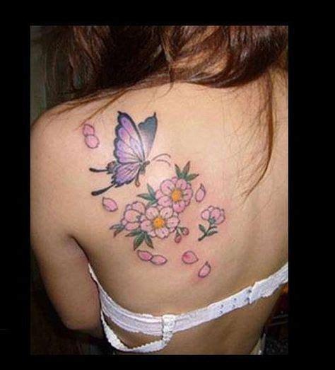 tatuaggi con fiori farfalle e lettere tatuaggi con farfalle e fiori i pi 249 bei disegni