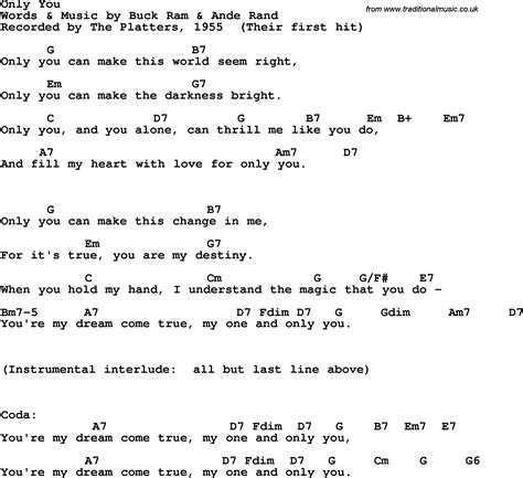 You And I Lyrics And Guitar Chords