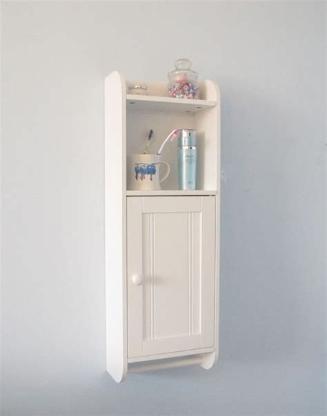 white wall cabinet wall mount single door cabinet bathroom