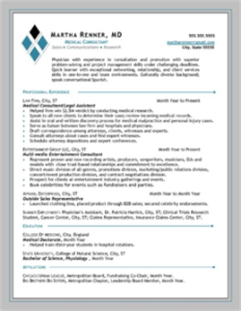 executive and professional resumes that get results