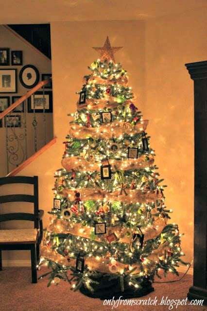 only from scratch classy christmas tree