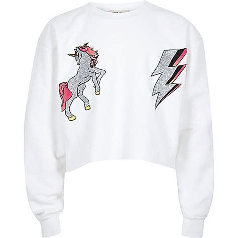 Unicorn Sweatshirt white unicorn print sweatshirt hoodies