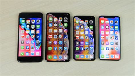 confronto iphone xs max vs iphone xs vs iphone x vs iphone 8 plus iphone italia