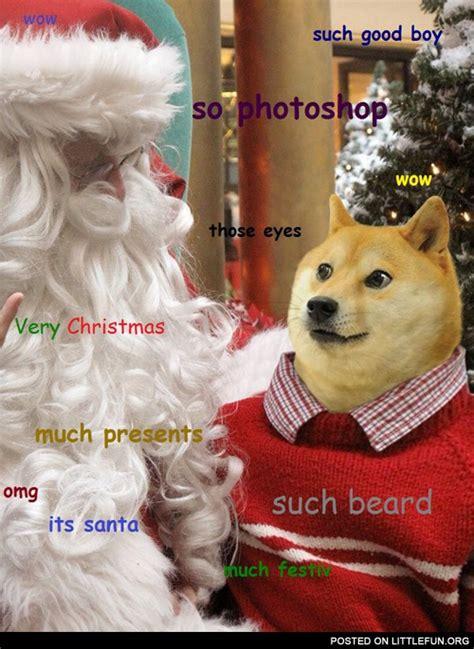 Christmas Doge Meme - littlefun christmas doge