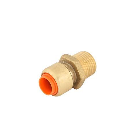 smartex 1 2 x 1 2 quot push fit brass copper connector