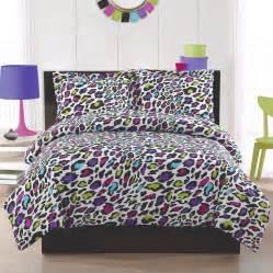 bedding sets for girls print livin large leopard