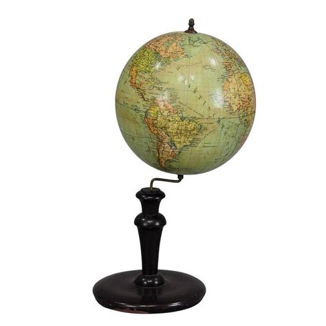 Antique Globe L by Antique Columbus Earth Globe By Dr R Neuse Berlin