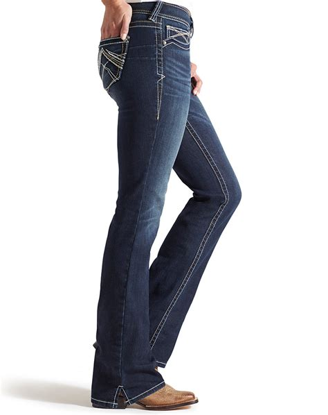 what are the best jeans for women in their forties ariat women s real mid rise boot cut whipstitch jeans ocean