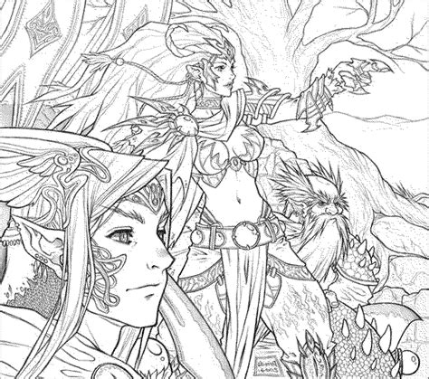 coloring pages for adults unique fantasy detailed coloring pages for adults printable fantasy az