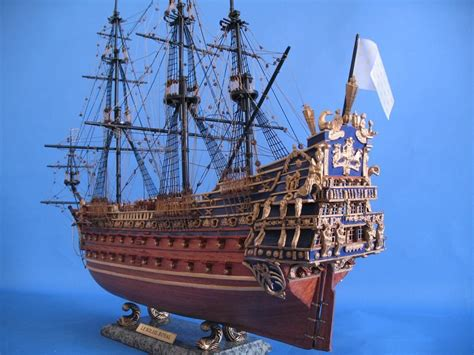 Handcrafted Ship Models - buy soleil royal limited model ship 32 inch ship