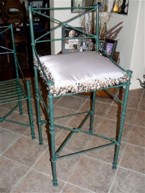 Pier 1 Wrought Iron Bar Stools by Wrought Iron Bar Stools Pier 1 For Sale