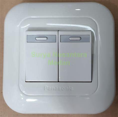 Ac Panasonic Di Medan jual saklar seri ganda tanam panasonic wej 5531 plat