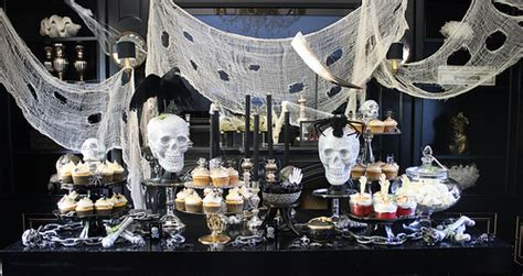 How To Decorate Pot At Home halloween dessert buffet heather christo