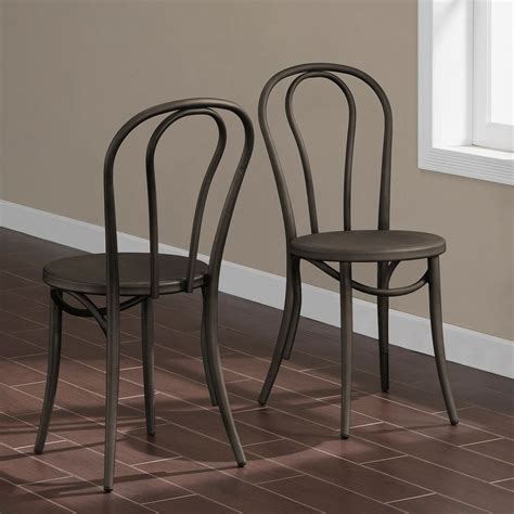 99 dining room chairs metal lylesdchairglvnzdshs15 cafe dark vintage metal dining chairs set of 2 by i love