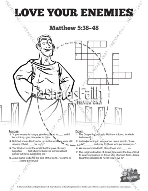 bible coloring pages love your enemies love your enemies colouring page by carenscolouring on