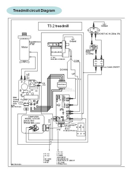 treadmill wiring diagram efcaviation