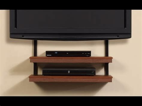 tv wall mount with shelves floating tv wall mount shelf