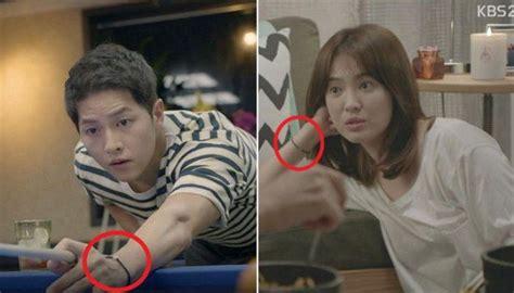 Gelang Drama Korea Descendants Of The Suns C58482 song joong ki dan song hye kyo pakai gelang di