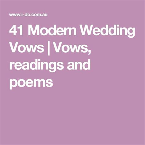 Wedding Vows Modern by 25 Best Ideas About Modern Wedding Vows On