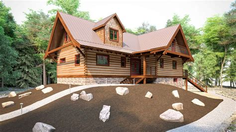 Log Cabin Kits Manitoba by Ecolog Cottages Redstone Lk Ontario
