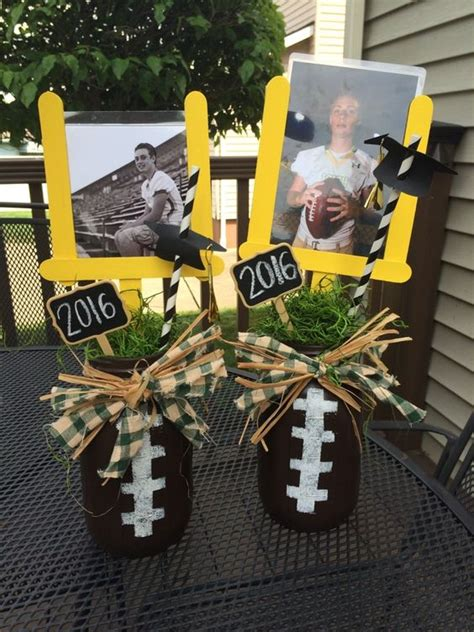 Football Banquet Decorations by 17 Best Images About Player Football Jars Popsicles And