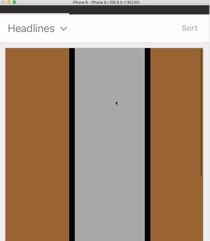 uicollectionview layout change animation ios swift uicollectionview horizontal scroll not working