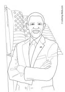 barack obama coloring pages coloring pages pinterest