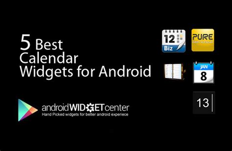 5 best android calendar widget androidwidgetcenter - Best Android Calendar Widget