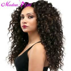 brazillian wave curls hairstyles aliexpress com buy miss gaga hair 7a deep wave brazilian