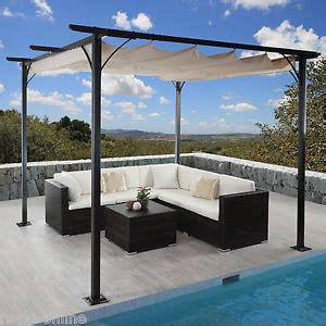 terrassen pavillon 3x3 m pavillon garten pergola sonnenschutz terrassen