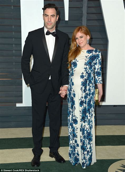 Baby Borat Confirmed by Isla Fisher And Sacha Baron Cohen Welcome Third Child