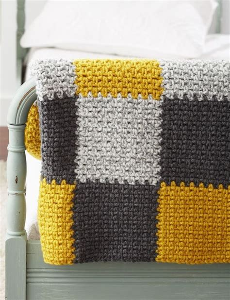 Easy Patchwork Blanket - crochet blankets patchwork and easy crochet blanket