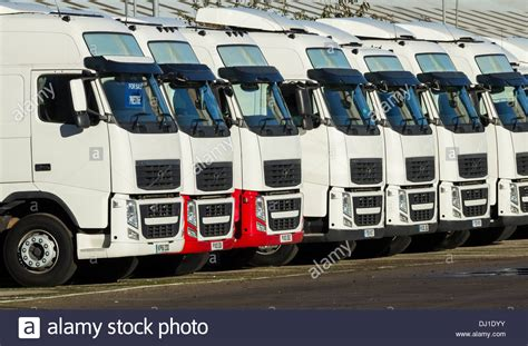 volvo trucks  volvo truck dealer england uk stock photo  alamy