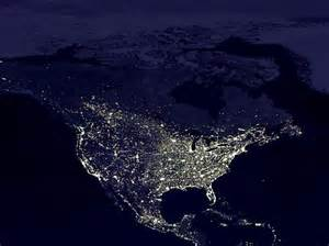united states light map some satellite photos of earth at