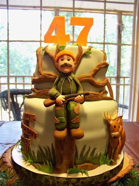 hunter   life smile  breathtaking hunting cakes